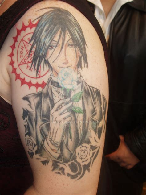 black butler tattoo black butler by eburel506 on deviantart
