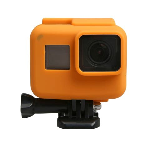 Go Pro The Frame Original original for gopro hero5 silicone border frame mount housing protective cover shell orange