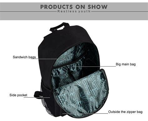 Jansport Sporty Tas Ransel tas ransel oxford glow in the model black