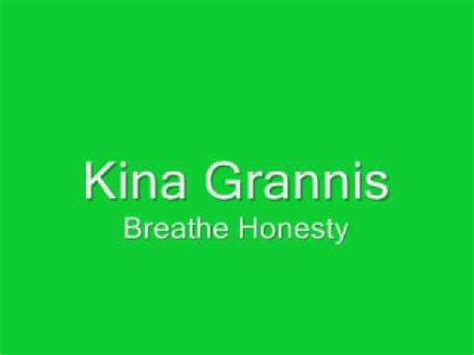 lyrics kina grannis kina grannis breathe honesty lyrics