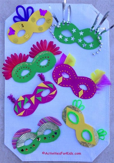 mask crafts for kids how to decorate a mardi gras mask masks kids and mardi gras