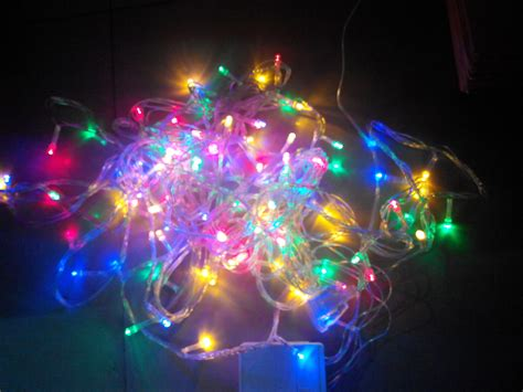 Lu Led Hias Warna Warni lu hias led 100l pohon natal mini warna warni