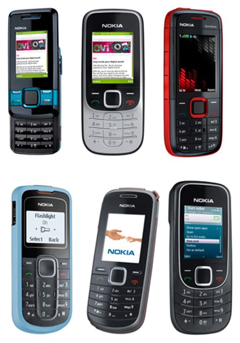 nokia mobile low cost 7 new low cost phones from nokia for the new year 2009