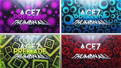 free youtube photoshop thumbnail template pack by