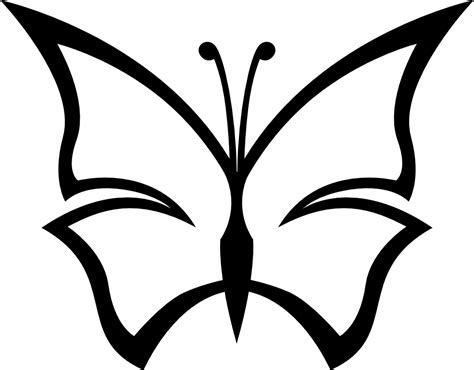 foto clipart butterfly clipart images black and white clipartsgram