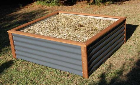 Raised Vegetable Garden Beds Corrugated Iron Unique And Stylish Colorbond Raised Garden Beds For