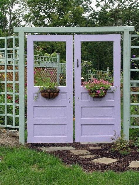 Backyard Door Ideas Diy Garden Ideas 05