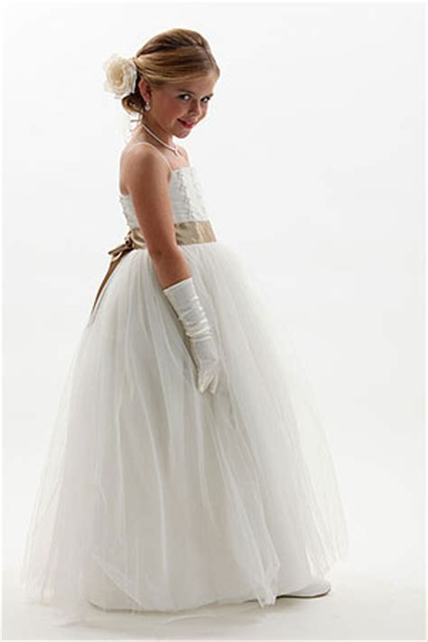 Designer Flower Girl Dresses   Flower Girl Dress For Less