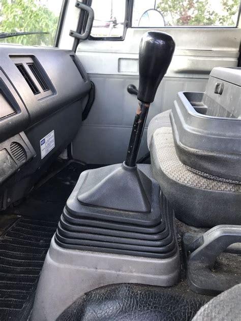 isuzu ftr manual stick shift  box truck  sale