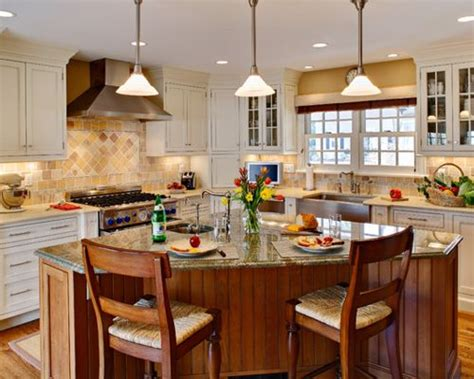 kitchen triangle design with island triangle island houzz
