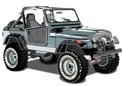 jeep clip jeep cj7 clipart