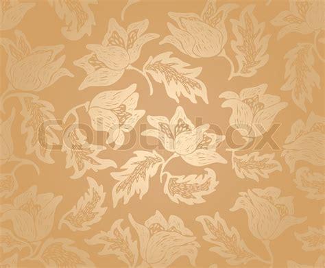 Muster Hintergrund Florale Muster Hintergrund Muster Gold Vektorgrafik Colourbox