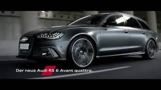 Audi Rs6 Advert Audi Rs6 Avant Tv Commercial Feat Audi R18 E