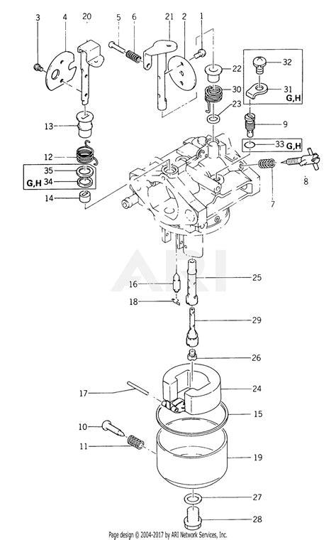 kawasaki fb460v fs01 4 stroke engine fb460v parts diagram