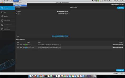 tutorial video wiki qtum wallet tutorial 183 qtumproject qtum wiki 183 github