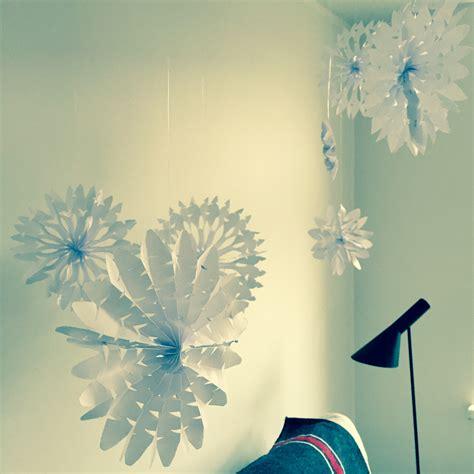 Winterdekoration Selber Basteln diy papierstern als winterdekoration