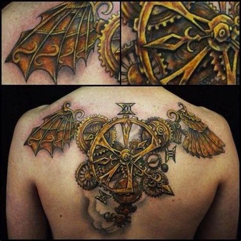 steam punk tattoos 28 awesome steunk tattoos ideas