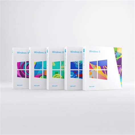 Design Poster Win8 | windows 8 packaging design artworks by colors and the kids