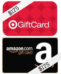 Target Amazon Gift Cards - 175 amazon gift card 175 target gift card giveway mom 4 real