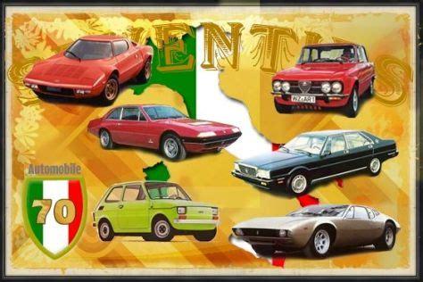 Auto Italienisch by Italienische Autos Der 70er Jahre Autobild De