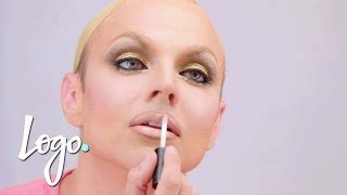 courtney act hair tutorials drag makeup tutorial violet chachki leather and lace