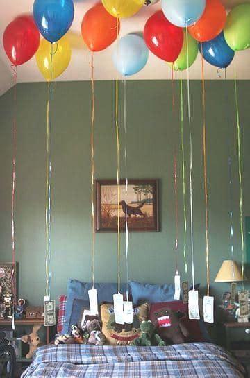 cuarto decorado con fotos y globos imagenes de cuartos decorados con globos