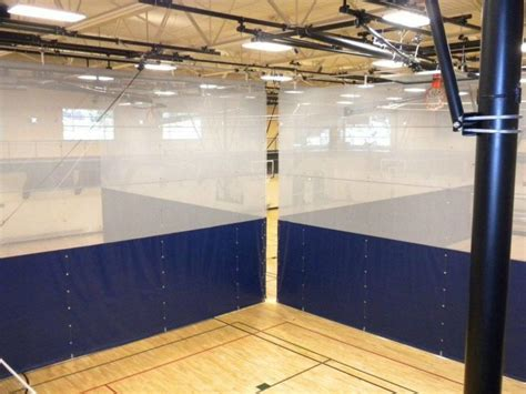 gym curtain divider fold up divider curtain gym curtain aalco