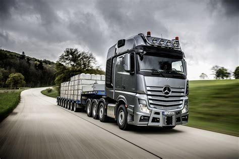 mercedes truck mercedes benz slt heavy duty trucking