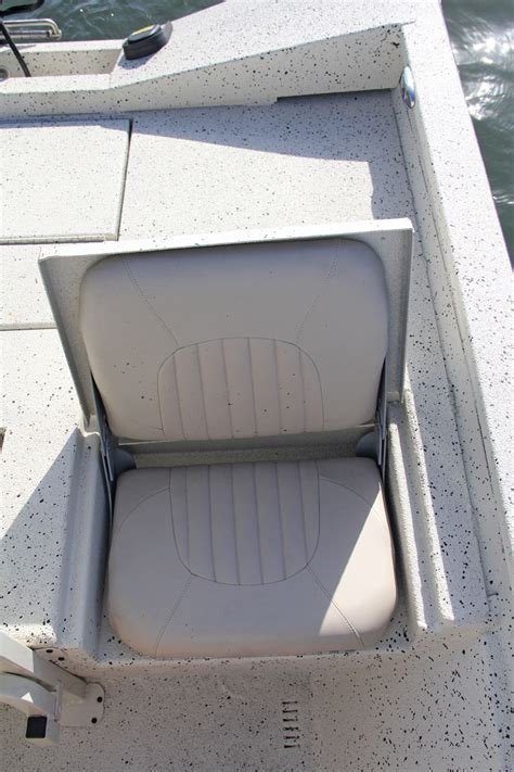 xpress flats boats one of two rear jump seats located at the stern fold it