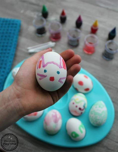 painted eggs pinterest painted easter eggs planning playtime