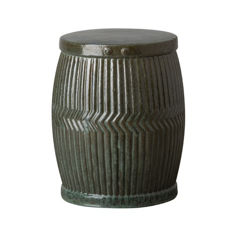 Garden Stool by Standard Dolly Tub Ceramic Garden Stool