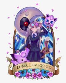 transparent luna lovegood png luna lovegood