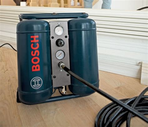 bosch cet3 10 3 gallon 1 hp mini angled tank air compressor home improvement