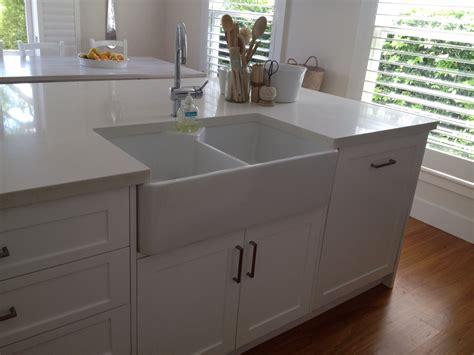This Kitchen Island Has A Butler Sink Shaker Polyurethane