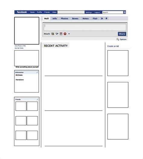 farcebook template template pdf reactorread org