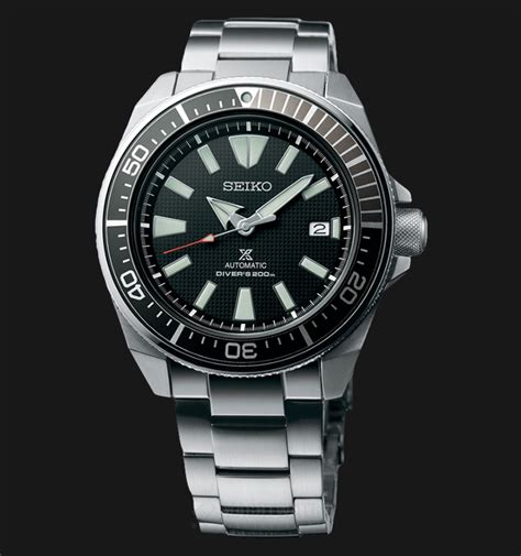 Dijamin Jam Meja Seiko Qxn228g seiko prospex samurai srpb51k1 automatic divers black