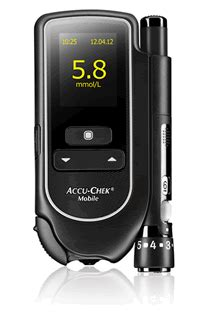 Accu Mobil Carry accu chek mobile guide meter review and fastclix guide