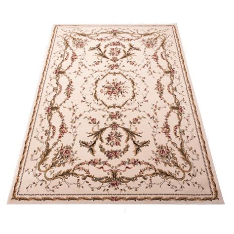 the rug seller uk bordeaux rugs bor01 in ivory free uk delivery the rug seller