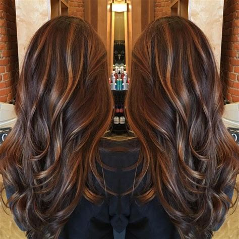 chocolate hair color with caramel highlights image result for milk chocolate hair color with caramel