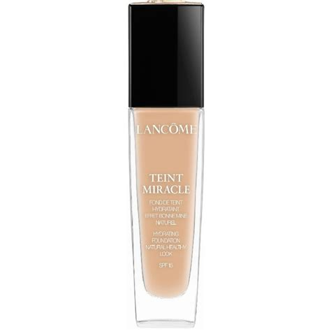 Lancome Miracle 30ml lanc 244 me teint miracle 30 ml beige dor 233 035