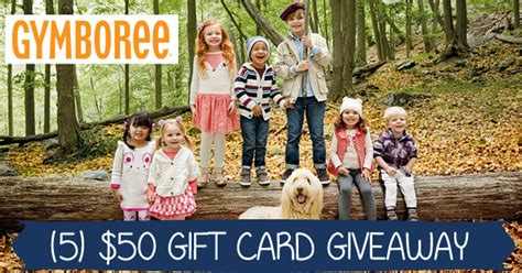 Gymboree Gift Card - 5 50 gymboree gift card giveaway ends 4 17 conservamom