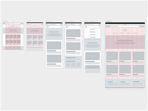 Free Responsive Wireframes Sketch Freebie Download Free Resource For Sketch Sketch App Sources Sketch Wireframe Template