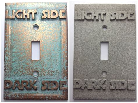 Wars Light Switch Cover by Wars Light Side Light Switch Cover Aged