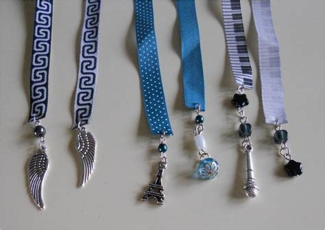 ribbon bookmarks     ribbon bookmark jewelry