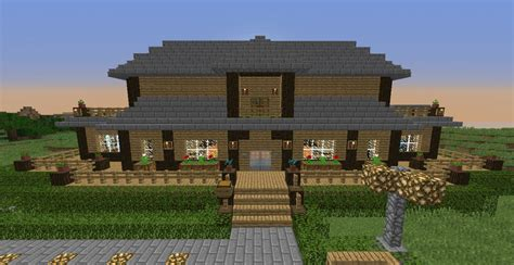 Bauideen Holz by ᐅ Landhaus In Minecraft Bauen Minecraft Bauideen De