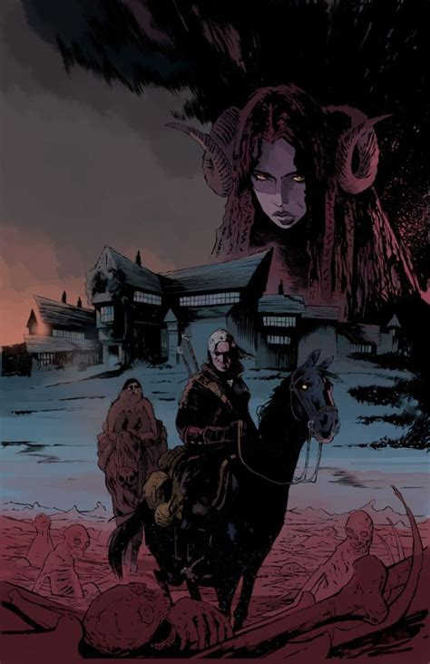 The Witcher Volume 1 House Of Glass Graphic Nove Buruan Ambil geralt of rivia rides into the realm of comics on a