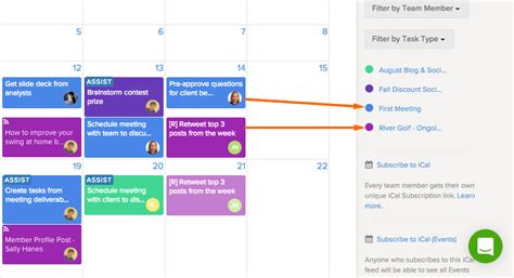 colors schedule do you color code my projects on the calendar 171 brightpod