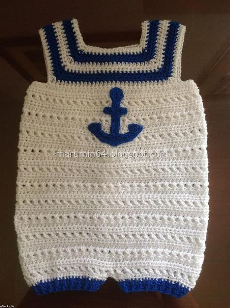 free pattern onesie navy onesie crochet pattern by marumin crochet crochet