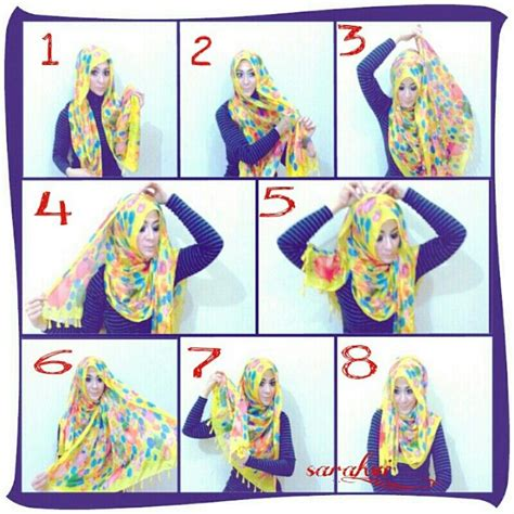 Kanaya Jilbab By Nadine Scarf 45 best images about tutorials on shawl square tutorial and pins