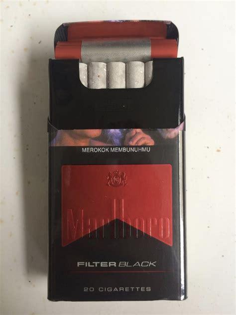 jual rokok marlboro filter black  cigarettes  harga